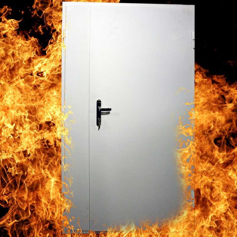 От чего защитят противопожарные двери.